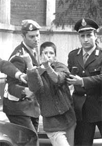 Maria Soledad Rosas, detida em Turin, Italia